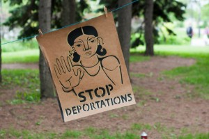 Call for an End Deportation Bloc in the Large Demonstration against Racism