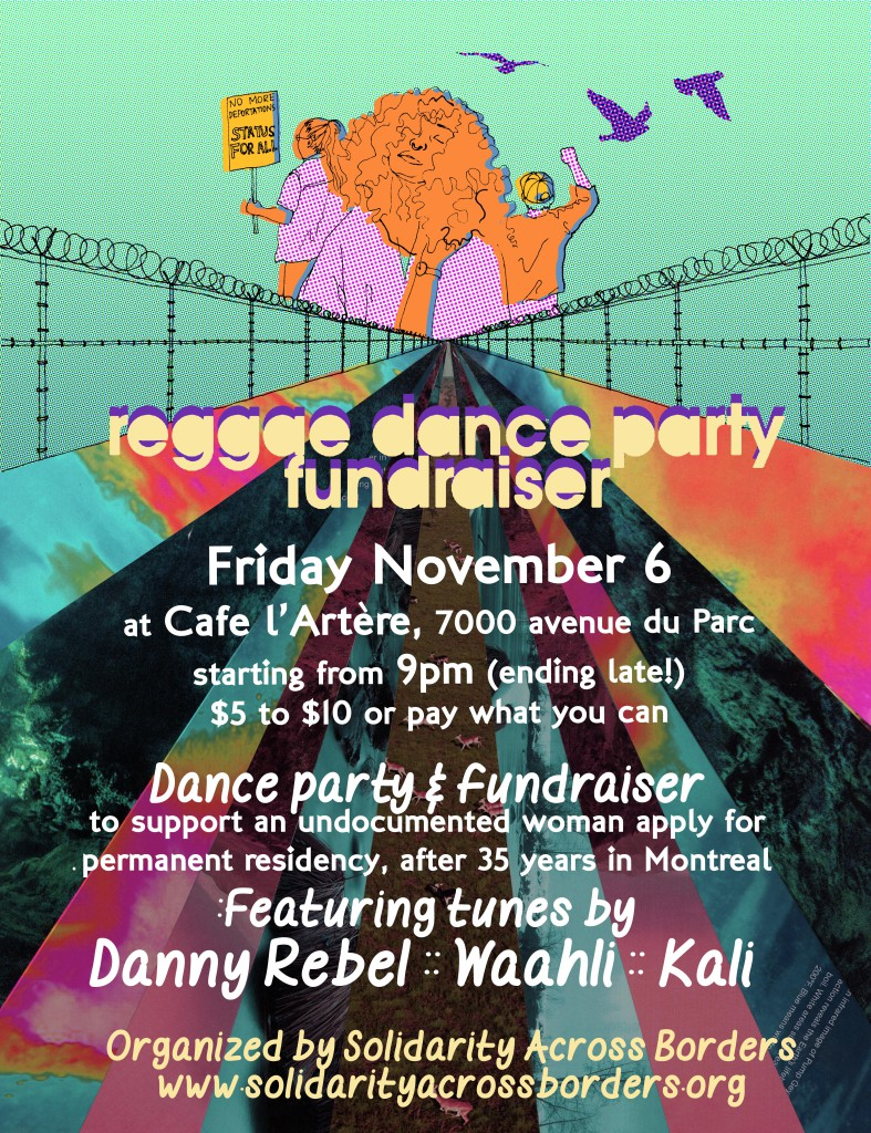 (6 November) Reggae Dance Party & Fundraiser