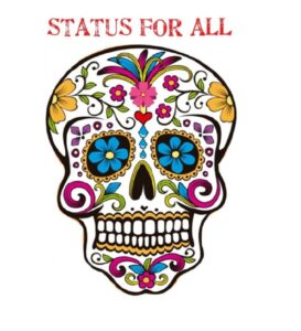 Day of the Dead: a Die-in to demand Status For All