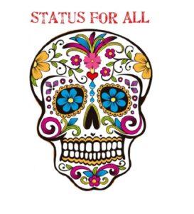 Jour des Morts : un «Die in» afin de revendiquer un Statut pour tous et toutes