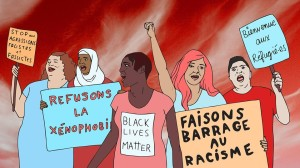 Mass demonstration against racism and xenophobia: here and everywhere