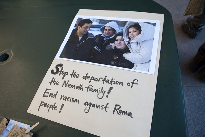 Solidarity Across Borders Denounces Deportation of Roma Family to Hungary