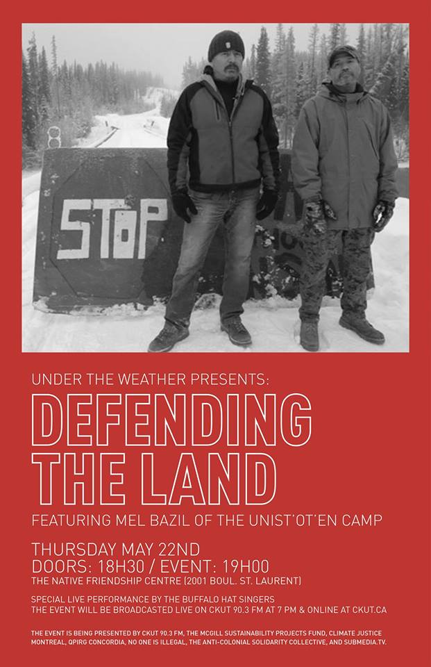 (Thursday) Defending the Land: Indigenous Resistance to Extraction
