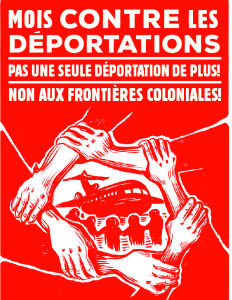JUNE: Month Against Borders and Deportations! Schedule of events!
